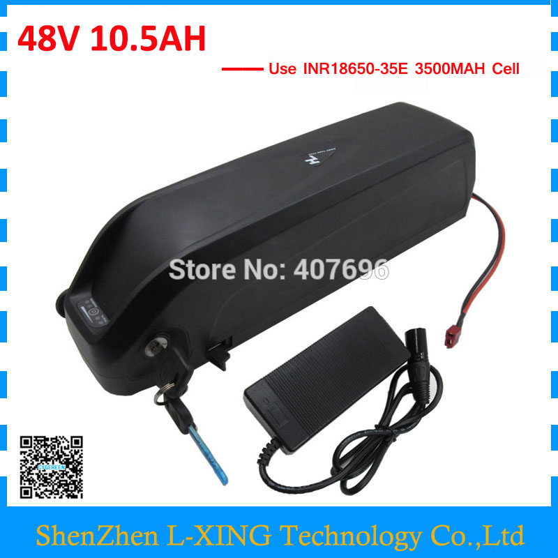 48V 10.5AH Electric Bike battery 48V hailong lithium ion battery use for samsung 3500mah cell with 20A BMS 54.6V 2A Charger 48v 3000w electric bike battery 48v 40ah samsung electric bicycle lithium ion battery with bms charger 48v battery pack 48v 8fun page 2