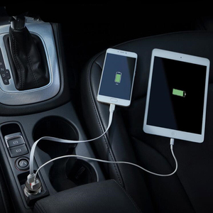 Image 4 - 5 V 3.1A Dijital LED Ekran Çift USB Araç iphone şarj cihazı Samsung Tablet Için Seyahat Adaptörü Hızlı Şarj Xiaomi