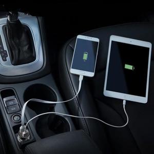 Image 4 - 5V 3.1A דיגיטלי LED תצוגה כפולה USB מטען לרכב עבור IPhone סמסונג Tablet נסיעות מתאם טעינה מהירה עבור Xiaomi
