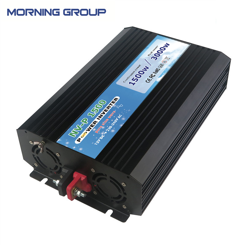 P1500 Rated Power 1500W Peak Power 3000W Pure Sine Wave DC To AC Off Grid Power Inverter peak power 3000w rated power 1500w pure sine wave inverter dc12v to ac 220v 50hz power inverter
