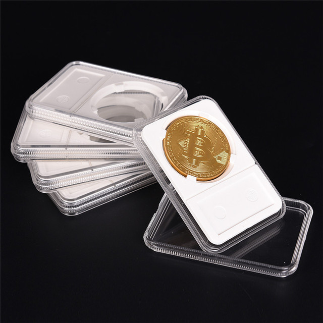 New 40mm Coin Storage Box Case Protector PCCB Protector NGC PCGS Grade Collection Box & New 40mm Coin Storage Box Case Protector PCCB Protector NGC PCGS ...