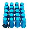 MOFE Racing 20PCS/LOT L: 50MM DIA: 19MM Aluminum P1.5 Wheel Nuts for Racing car wheel bolts Blue