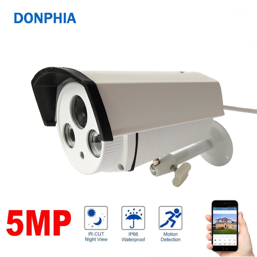 5MP Caméra IP OV4689 + 3516D WDR Tableau Led Nuit Vision H265 ONVIF Étanche Surveillance de La Sécurité Extérieure IR CUT