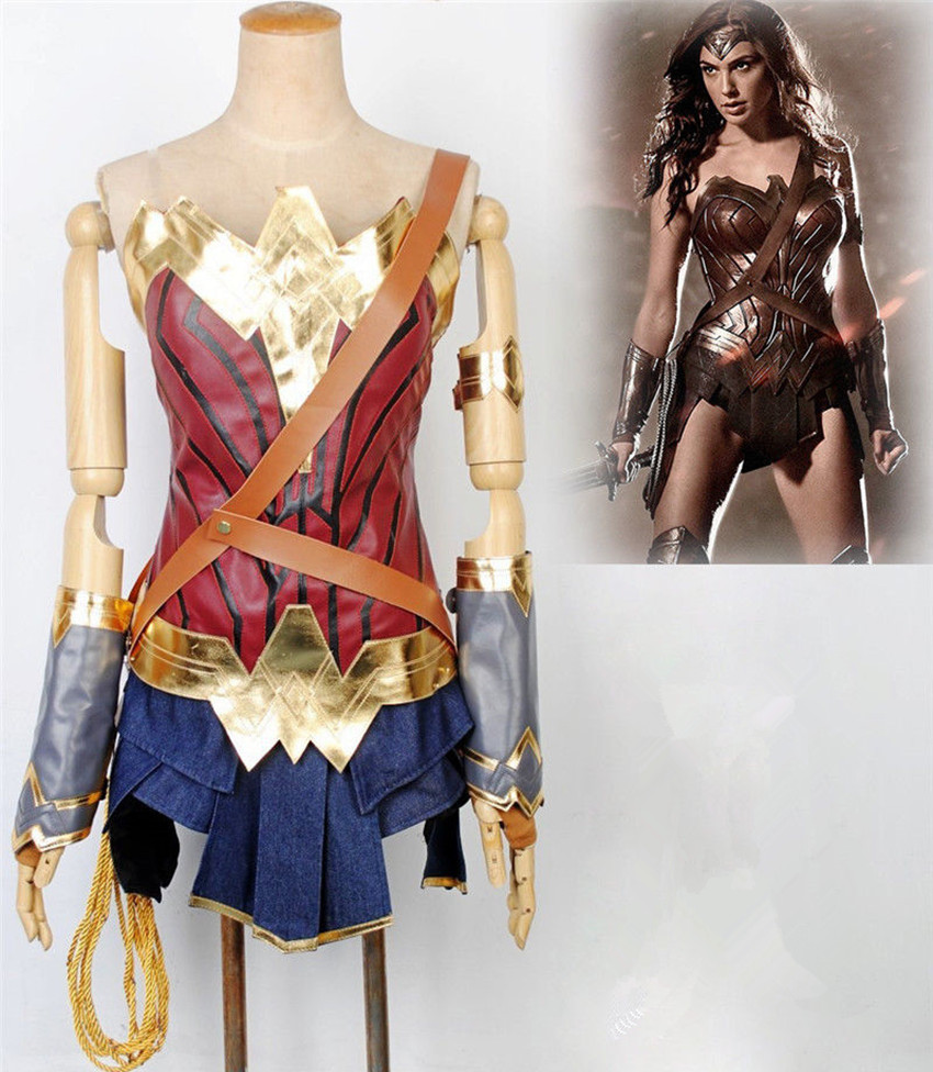 Adult Kids Women Girls Wonder Woman Superhero Diana -5004
