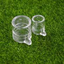 round two size water feeding area for ant nest ,ant farm acryl or insect ant nests villa pet mania for house ants(China)