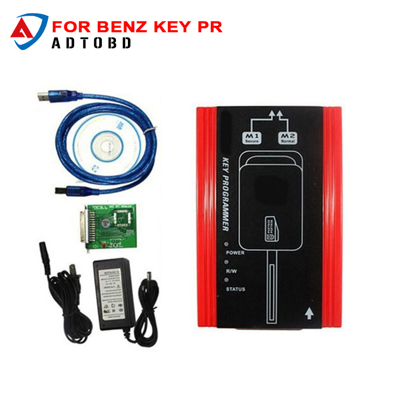 for Mercedes Benz Key Programmer Program the key for Mercedes A-klasa, E210 ,ML320, W140, Gelenvagen with PCF7935 chip a mb ir nec key programmer for mercedes for benz new for benz ir nec key programmer mb ir key prog auto nec key programming