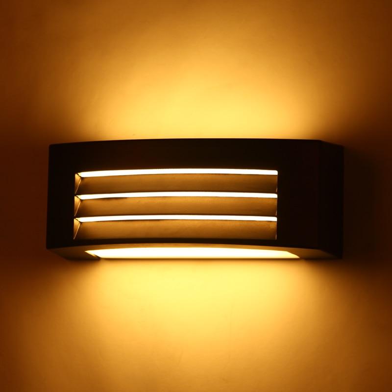 Udendørs væg lamper lys ip54 columbia udendørs galleri belysning Regntæt Dampres veranda haven lys 110V / 220v 1040