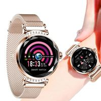 IP67 Waterproof Smart Bracelet Continuous Heart Rate Detection Physiological Reminder Magnetic Strap Watch