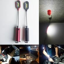 COB Work Light With Magnet Adjustable Angle Bendable LED Lights Casing Aluminum Alloy Casing With Magnet Torch droshipping