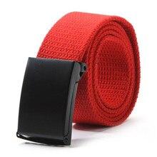 Casual Unisex Men Waist Belt Waistband Plain Webbing Canvas Belt Strap Belts 3cm colorful webbing waist belt fashion unisex plain webbing waist belt waistband casual canvas belt