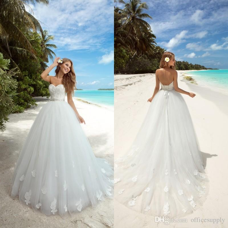 Empire Ball Gown Wedding Dresses: 2017 Modest Ball Gown Wedding Dresses Romantic Lace