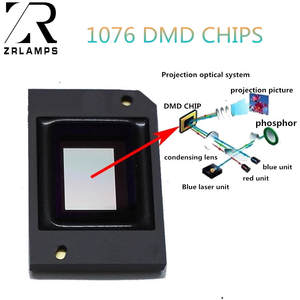 ZR Dmd-Chips 1076-6439B Projectors for 1024--768