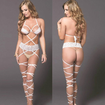 a6a580576d9 2018 Women Extreme Brazilia Sexy White Lace Mini Micro Bikinis Swimwear G-string  Thong Underwear Bathing Suit Maillot De Bain