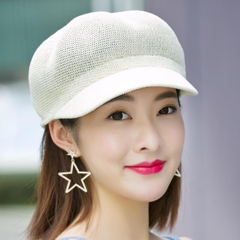 2019 new British style Summer breathable cap Women 39 s Sun Hats Woman Cap Casual Hot Straw Foldable Shade Sunscreen Girl travel in Women 39 s Sun Hats from Apparel Accessories