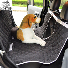 2017 New Multifunction Pet Car Seat Cover Dog Cat Back Rear Seats Hammock Cover Protectors with Visble Barrier for Trucks SUV