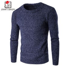 2018 Special Offer Brand Clothing Men Sweater Five Colors O-neck Slim Fit Casual Pullover Sweaters Knitting Mens M-xxl 9824