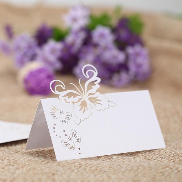 Wedding Cards 50 pcs/lot