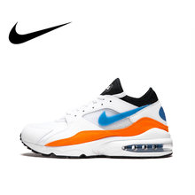 6c26e3a4e8 Original Authentic NIKE Air Max 93 Mens Running Shoes Sneakers Cushioning  Breathable Sport Outdoor Good Quality