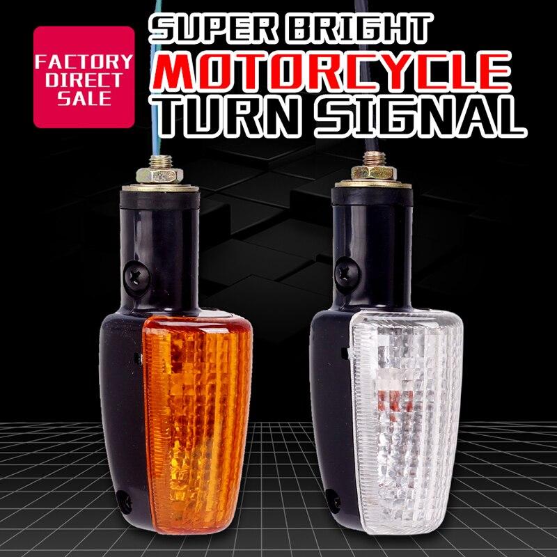 Indicatori di direzione della luce Indicatore Lampeggiante lampadina della lampada Per Honda CB400 1992-1998 GIADA VTR250 25 v Hornet CB- 1 Accessori moto