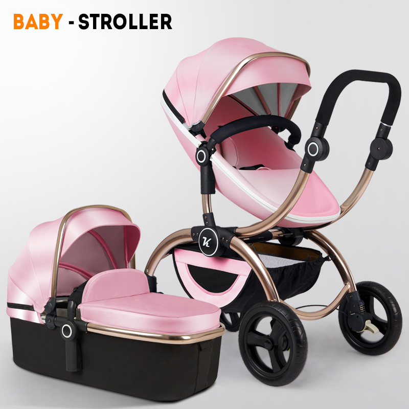 High landscape can sit reclining, lightweight folding, reclining newborn, portable, winter and summerHigh landscape can sit reclining, lightweight folding, reclining newborn, portable, winter and summer