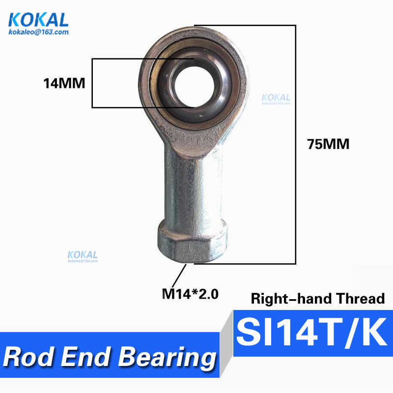 Internal Female Thread Rod End Joint Bearing SI14T//K Ball Bearing Link Joint