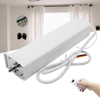 Electric Curtain Motor Remote Control Wireless Smart Home Auto Motorized Curtain Device Low Noise Intelligent Home Automation