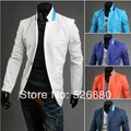 Free shipping on the new suit color small collar design Two basic leisure suit