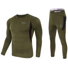 Mens Thermal Fleece Bicycle Base Layer Kits Warm Sports Underwear Road Bike MTB Jersey Clothes Cycling Training Tactics Running