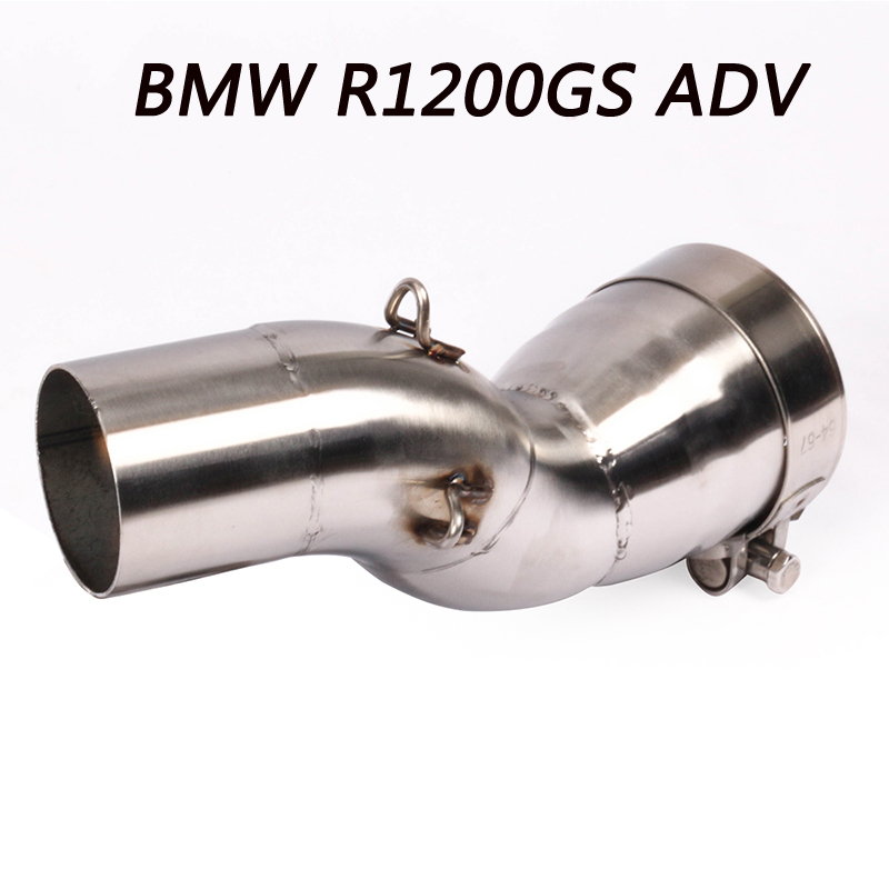 For BMW R1200GS ADV Slip-on Motorcycle Exhaust Muffler Middle Link Pipe R1200 GS ADV Escape Accessories matching 51MM ExhaustFor BMW R1200GS ADV Slip-on Motorcycle Exhaust Muffler Middle Link Pipe R1200 GS ADV Escape Accessories matching 51MM Exhaust