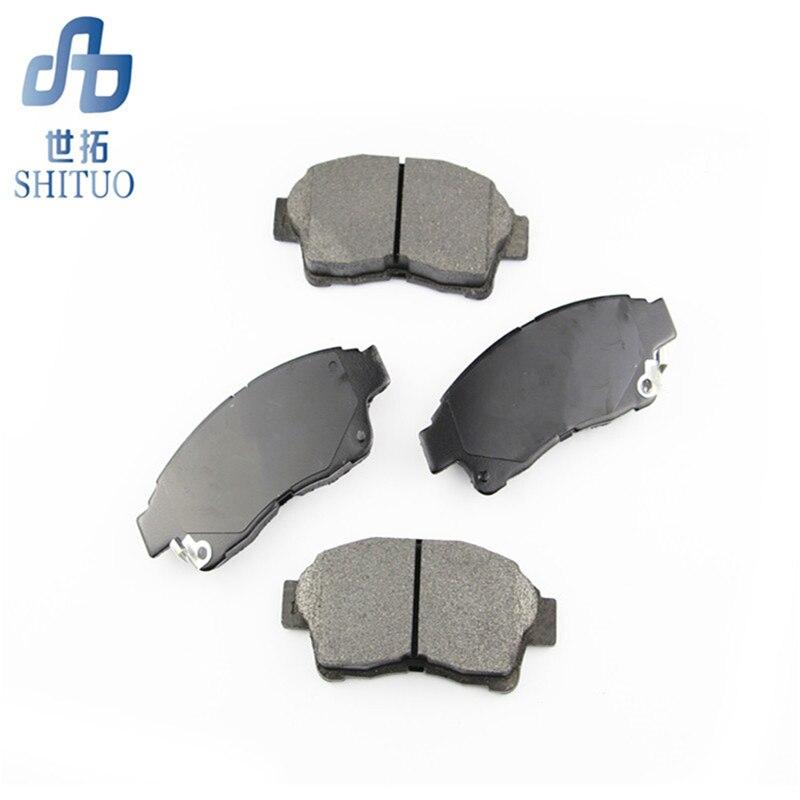 Plaquettes de frein de voiture 4 pièces/ensemble Auto pièces plaquettes de frein avant pour Hyundai Sonata - 6