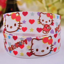 "22mm 7/8"" ribbon Kitty"