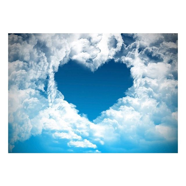 valentine s day backdrops blue sky white clouds backgrounds for