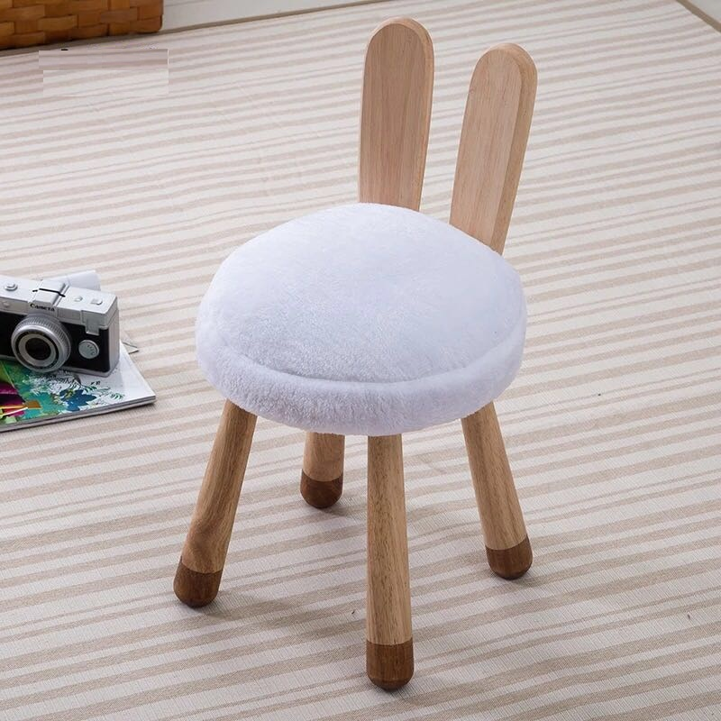 FREE SHIPPING U-BEST iving room furniture seating wooden lounge chair animal stool deer rabbit cow sheep giraffe animal ottoman