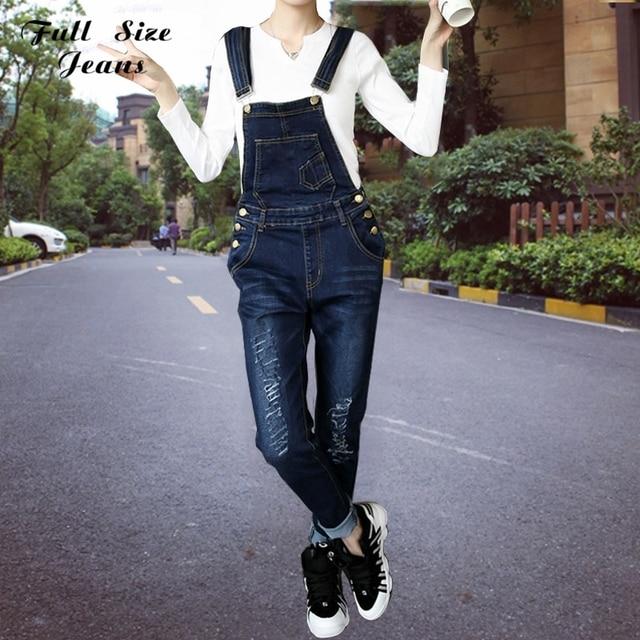 7efa509e687 True Boyfriend Ripped Denim Jeans Plus Size Loose Harem Pants Female  Beyonce Bodysuit Sexy Romper Jumpsuit Women Xxs 5Xl 4Xl 6Xl