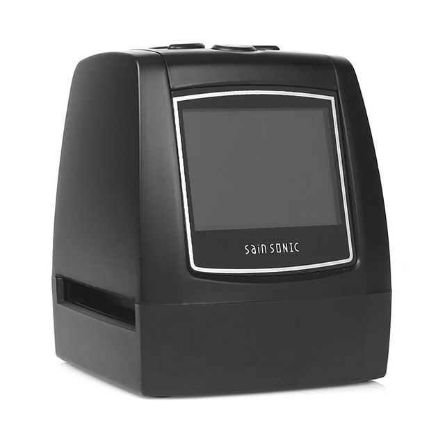 "SainSonic FS-02 2.3"" Film Slide Negative Scanner 35mm 5MP USB Multi-language Digital Film Converter"