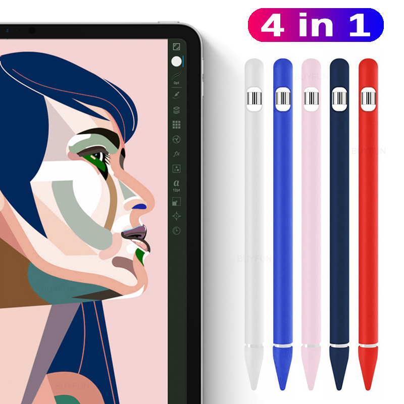 Case For Apple Pencil 2nd Generation For Apple Pencil 2 Holder Premium Silicone Cover Sleeve For IPad 2018Pro 12.9 11 Inch Pen