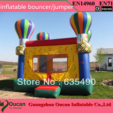 Free shipping Free logo printing Outdoor Inflatable font b Bouncer b font House Inflatable font b