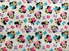 Minnie Lycra Knitted Pure Cotton Fabric For Patchwork 4 Way Scalable Cartoon Cloth DIY Sewing Baby