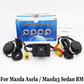 For Mazda Axela / Mazda3 Sedan BM 2013~2016 / Wire Or Wireless / HD CCD Night Vision Rearview Camera / Reserved Hole Install