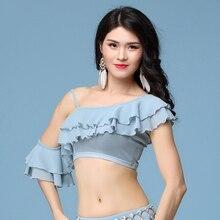 2018 New Belly Tribal Dancing Shirts Modal Durable Tops Wears Bollywood  Sexy Women Danza Ventre Frocks 68b507cbebbb