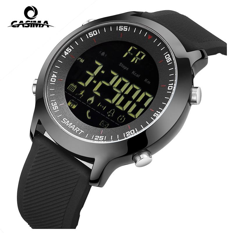 CASIMA Luxury Brand Mens Sports Watches Waterproof 50m Digital Smart Watch Men Fashion Casual Electronics Wristwatches