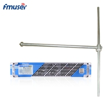 """FMUSER FSN-600T 600 Вт 500 Вт сенсорный экран PLL fm-радиопередатчик вещания+ FU-DV1 антенна+ 30 м 1/"""" кабель для fm-радиостанции"""