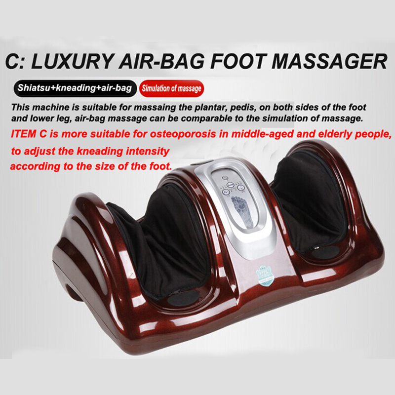 HFR-8802-3 HealthForever Brand Wireless Control Kneading Device Legs Instrument Electric Shiatsu Air Bag Foot Massager Machine hfr 8802 3 healthforever brand wireless control kneading device legs instrument electric shiatsu air bag foot massager machine