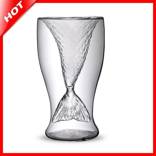 Aliexpress.com : Buy Free Shipping Transparent Mermaid Glass ...