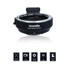 Commlite Electronic AF Auto Focus Lens Adapter for Canon EF EF-S Lens to Camera M4/3 MFT GH4 GH5 GF6 GX1 GX7 EM5 EM1 E-PL5 BMPCC