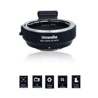 Commlite Electronic AF Auto Focus Lens Adapter for Canon EF EF S Lens to Camera M4/3 MFT GH4 GH5 GF6 GX1 GX7 EM5 EM1 E PL5 BMPCC