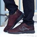 Новая мода повседневная мужская обувь, плюс бархатные теплые зимние ботинки, плоским каблуках обувь высокого качества мужская обувь взрыв Zapatos