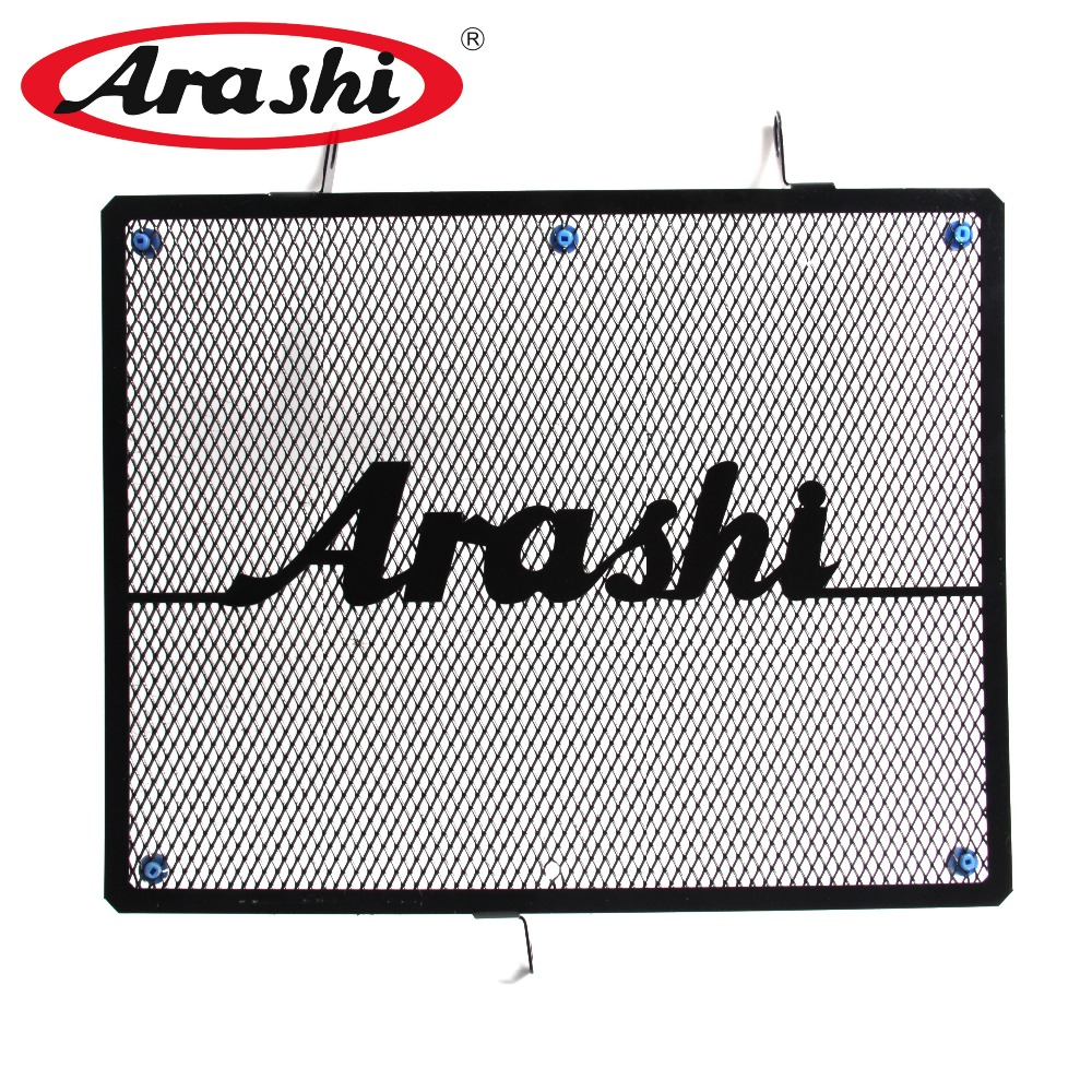 ARASHI Black Motorcycle Accessories Radiator Guard Protector Grille Grill Cover For <font><b>HONDA</b></font> CBR600 <font><b>CBR</b></font> <font><b>600</b></font> 2007 <font><b>2008</b></font> 2009 2010 11 image