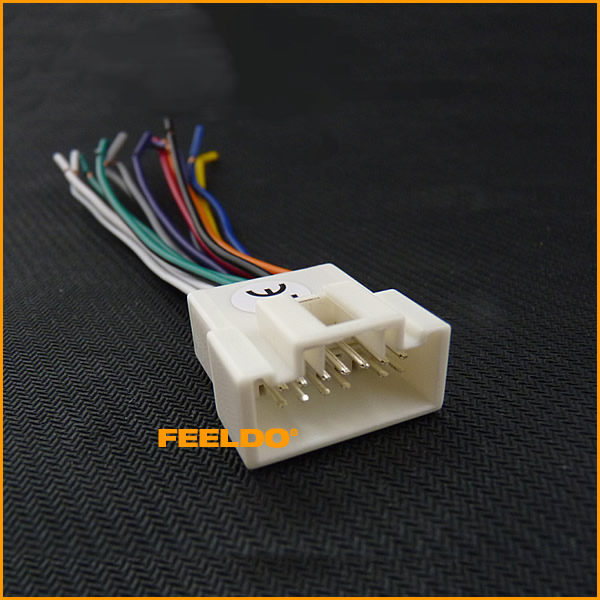 compare prices on ford wiring harnesses online shopping buy low car stereo radio wire harness for mitsubishi lancer ford fd 1578