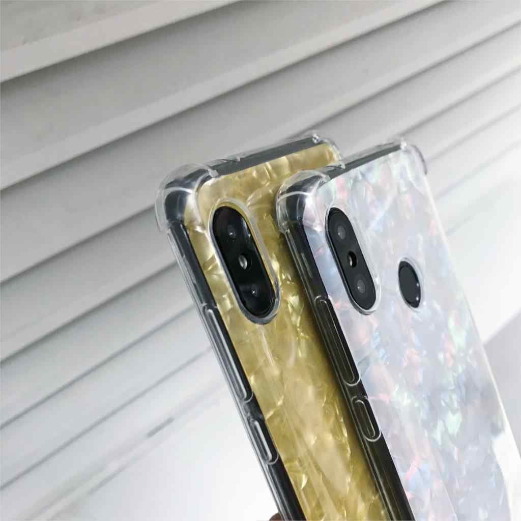 Caso Anti-Choque NO Para XiaoMi A2 A1 6X 5X 5S 8 Lite SE F1 MAX 3 2 MIX TPU Tampa de Mármore Nota RedMi 6 Pro 6A 5A 5 Plus 4A 4X